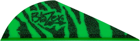 "Blazer Vanes 2"" Green Tiger"