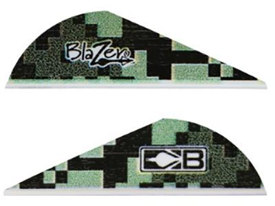 """Bohning Blazer 2"""" Digital Camo Vanes"""