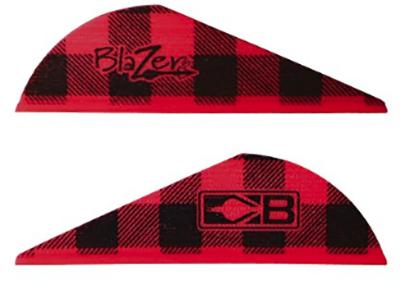 "Bohning Blazer 2"" Red Flannel Vanes"