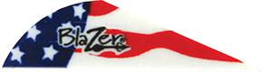 "Bohning Blazer 2"" American Flag Vanes"