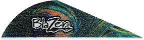 "Bohning Blazer 2"" Peacock Vanes"