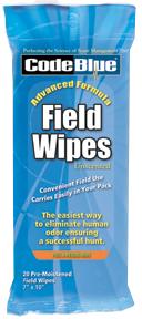 Code Blue Field Wipes
