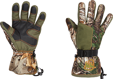 Arctic Shield Classic Elite Glove Realtree Edge Camo Large