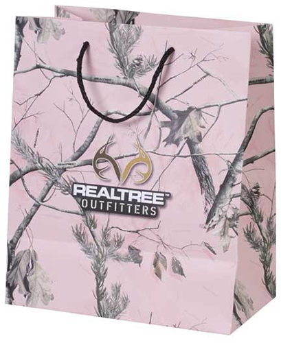 Realtree Outfitter All Purpose Pink Gift Bag