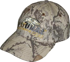 6 Panel Baseball Hat Natural Camo