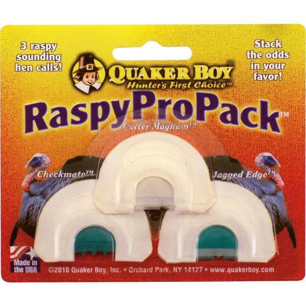 Quaker Raspy Pro Pack Turkey Diaphragms