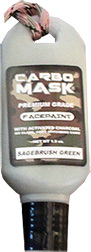 Carbomask 1.5oz Face Paint Sage Brush Green