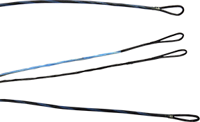 First Draw Genesis String/Cable Set Light Blue/Black