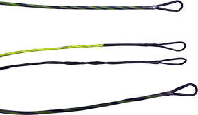 First Draw Genesis String/Cable Set Flo Yellow/Black