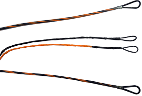 First Draw Genesis String/Cable Set Sunset Orange/Black