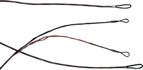 First Draw Genisis String/Cable Set Mountain Berry/Black