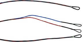First Draw Genesis String/Cable Set Red/Blue