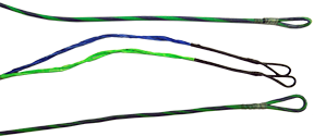 First Draw Genesis String/Cable Set Flo Green/Blue