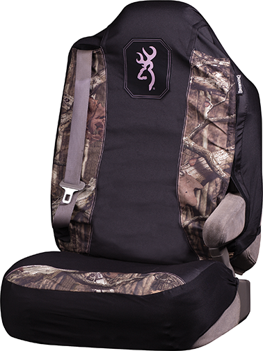 Browning Universal Pullover Seat Cover MO Inf w/Pink Trim