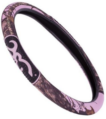 Browning 2 Grip Steering Wheel Cover Mossy Oak Breakup Pink