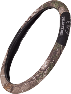 Realtree 2-Grip Steering Wheel Cover Realtree Xtra