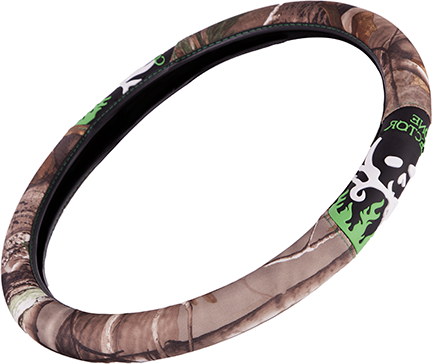 Bone Collector 2-Grip Steering Wheel Cover Realtree AP