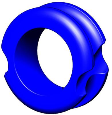 "G5 Meta Pro Peep Hunter 3/16"" Blue"