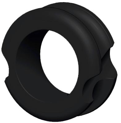 """G5 Meta Peep Pro Hunter 1/4"""" Black"""