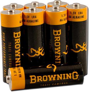"Browning Trail Camera ""AA"" Alkaline Batteries"