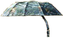 "Allen 57"" Treestand Umbrella Oakbrush Camo"