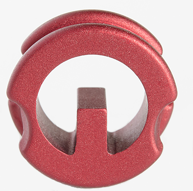 "Precision Peep 5/16"" Red"