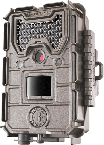 Bushnell 20mp HD Aggressor Trophy Cam Low Glow Tan