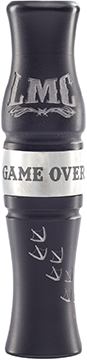 LMC The Game Over Goose Call Stealth Black