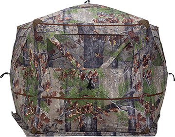 Barronett Blockout 5 Blind Backwoods Camo