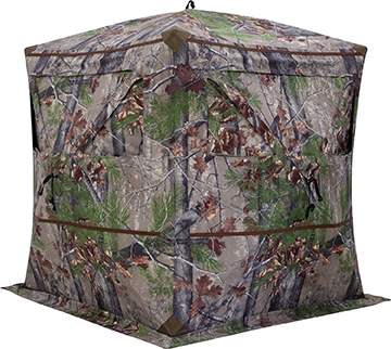Barronett Blockout 4 Blind Backwoods Camo