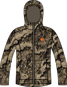Nomad Mast Hoodie Veil Whitetail 2X-Large