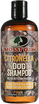 Mossy Oak Dog Shampoo Cedarwood 16 oz.