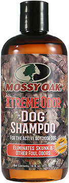 Mossy Oak Dog Shampoo Xtreme Odor 16 oz.
