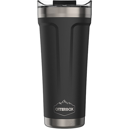 Otterbox Elevation Tumbler Black 20 oz. w/Flip Close Lid