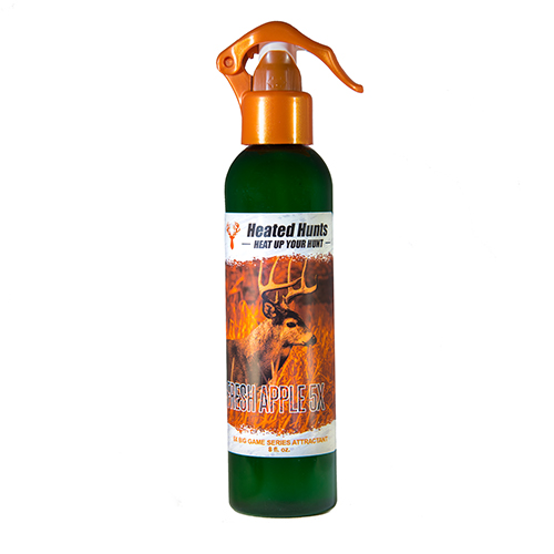 Heated Hunts 5x Attractant Scent Fresh Apple