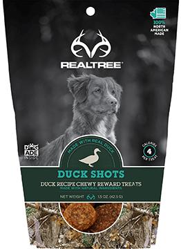 Realtree Naturals Premium Dog Treats Duck Shots
