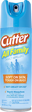 Cutter All Family Insect Repellent 7% DEET 6 oz.