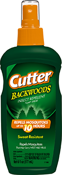 Cutter Backwoods Insect Repellent 25% DEET 6 oz.