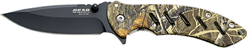 Bear and Son Brisk 1.0 Folder Realtree Brown 4 1/6 in.