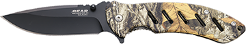 Bear and Son Brisk 1.0 Folder Realtree Brown 5 in.