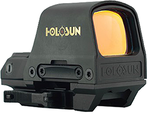 Holosun Reflex Sight 30mm Solar Titanium Hood