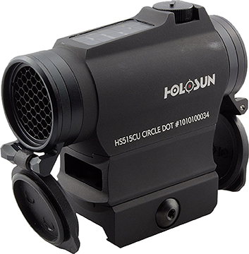 Holosun Micro Red Dot Sight 20 mm Solar Kill FlashFlip Caps