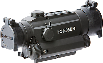 Holosun Full Size Sight 30mm Red Laser Flip Backs