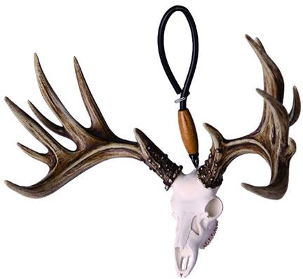Big Rack Whitetail Skull Shedz Figurine