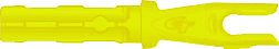 Accu Tough Nock Flo Yellow .204