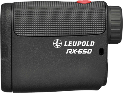 Leupold RX-650 Laser Rangefinder Black