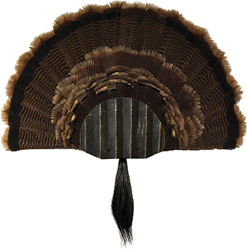 Walnut Hollow Metal Turkey Mounting Kit Black