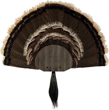 Walnut Hollow Metal Turkey Mounting Kit Grey