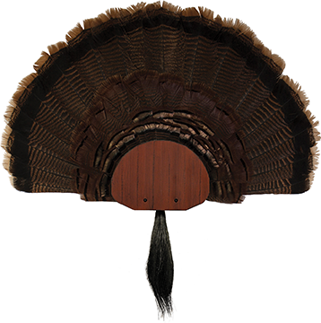 Walnut Hollow Metal Turkey Mounting Kit Red
