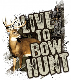 Live to Bowhunt Series Whitetail Decal